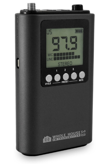 Seriøst Whole House FM Transmitter - We Go The Distance KN37